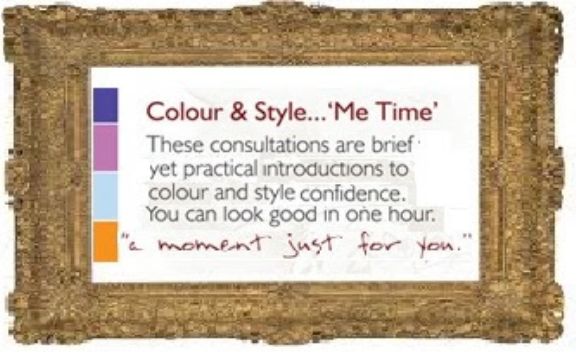 Colour and style me time